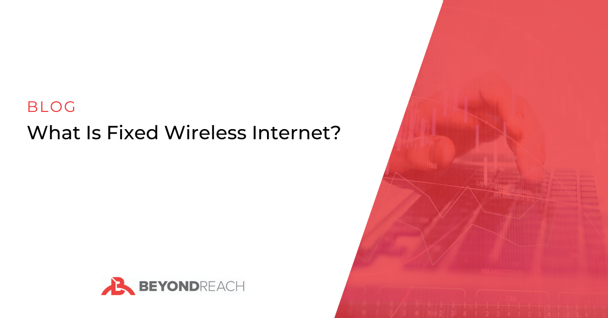 what is fixed wireless