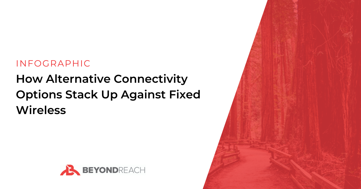 How Alternative Connectivity Options Stack Up Against Fixed Wireless